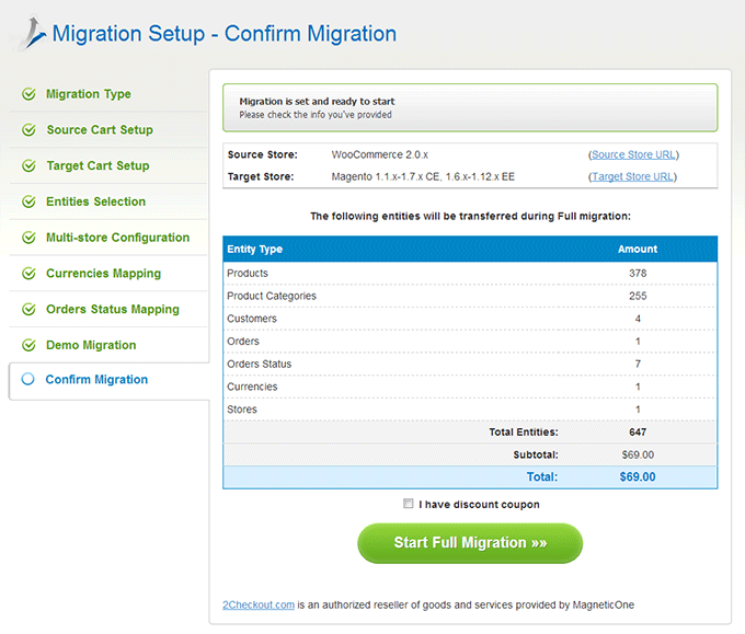 Cart2Cart WooCommerce to Magento Migration Tool - Image Source: shopping-cart-migration.com