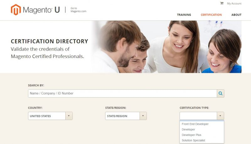 Magento Certification Directory