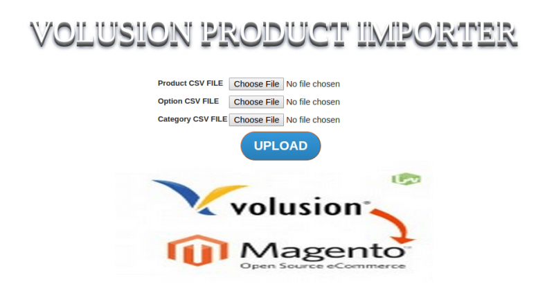 Volusion Product Importer - Image Source: cedcommerce.com