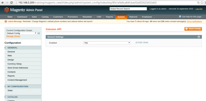 Volusion API in Magento - Image Source: cedcommerce.com