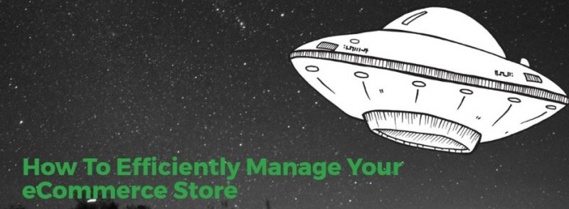 how to manage ecommerce store