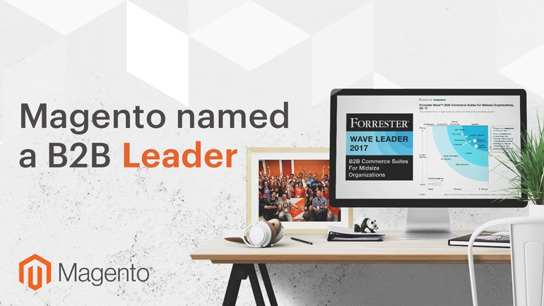 Magento B2B Leader in 2017 - Image Source: magento.com