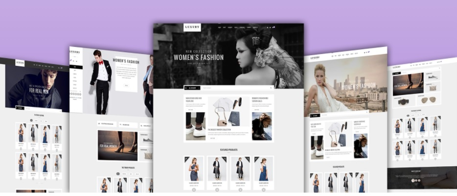 Luxury eCommerce Themes - Image Source: themeforest.net