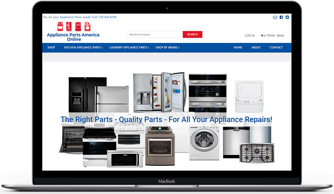 Appliance Parts America Online