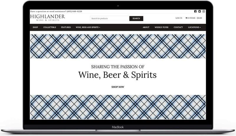 highlander wine