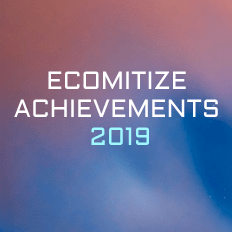 Ecomitize Achievements 2019