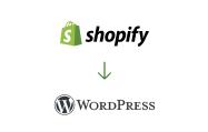 shopify wordpress