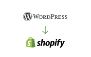 wordpress shopify