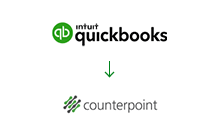 QuickBooks to Counterpoint